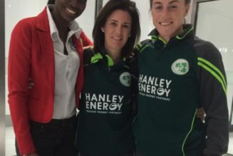 Ireland first team to arrive for Women's World T20