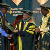 Recipients of Honorary Doctorates advocate for end to racism